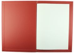 Carbon Rod | A4 - Red G-Line - Red Buckram