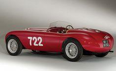 Ferrari 166 Inter Spyder Corsa, 1948 - Retronaut