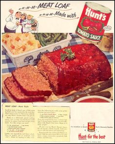 Hunt's Tomato Sauce Meatloaf