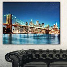 DESIGN ART Big Apple New York' Cityscape Photo Print