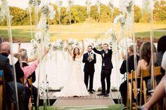 Backyard Grandeur | Ashley + Klint | Brides of Oklahoma #bridesofok