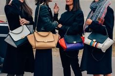 We like to think that keeping it bold can always be done simply with a bag in a pop of colour #statement