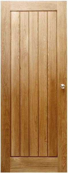 Buy our popular Suffolk Solid Oak Door from UK Oak Doors securely online today! Fast delivery, off on door handles and more from the UK's leading supplier of Suffolk Doors! Solid Oak Internal Doors, Solid Oak Doors, Wooden Door Hangers, Wooden Doors, Interior Design Institute, Contemporary Doors, Modern Door, Solid Wood Flooring, Loft
