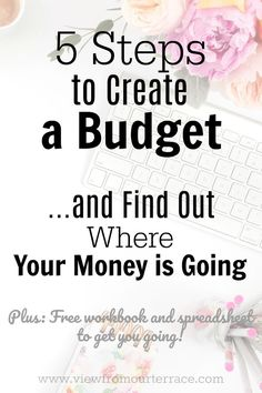 Are you unsure what the first step is to starting and following a budget?  Check out this FREE workbook to help you create a budget and start organizing your finances.