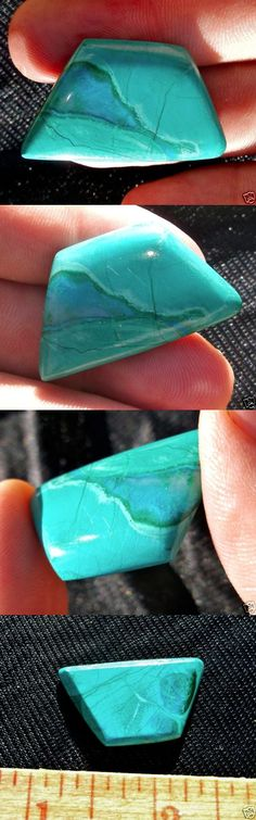 Malachite 10236: Malachite Cabochon With Gem Silicia Vein 6.7 Grams - 33.9 Carats Bisbee Arizona -> BUY IT NOW ONLY: $64.35 on eBay!