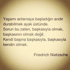 Nietzsche Sözleri, Özlü Sözler, Anlamlı Sözler Friedrich Nietzsche, One Word, Carpe Diem, Cool Words, Philosophy, Relationship, Quotes, Books, Bb