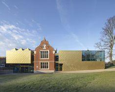 Bildergalerie zu: Museumserweiterung in Kent / Goldiger Eklektizismus - Architektur und Architekten - News / Meldungen / Nachrichten - BauNetz.de