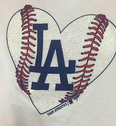 Los Angeles Dodgers Logo Interlocking La In Blue
