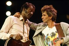 """The Rolling Stones paid tribute to Chuck Berry on Saturday, following Berry's death at age 90. """"The Rolling Stones are deeply saddened to hear of the passing of Chuck Berry. 