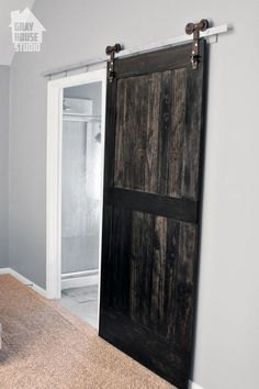 creating a wood barn door, bedroom ideas, diy, doors, how to, wall decor, woodworking projects
