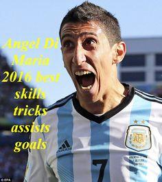 Angel Di Maria 2016 best skills tricks assists goals with Real Madrid,Ar...