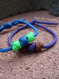 Cute Little Beads Paracord Bracelet