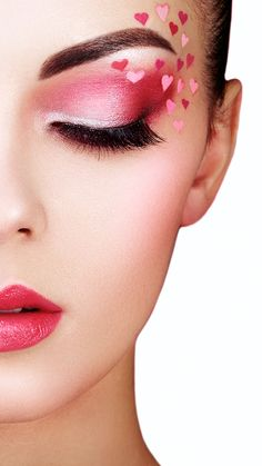 ♥️♥️♥️♥️♥️ Get up to Off your favorite makeup and brushes today! Day Eye Makeup, Makeup Eye Looks, Cute Makeup, Pretty Makeup, Creative Eye Makeup, Colorful Eye Makeup, Romantic Makeup, Eye Makeup Designs, Makeup Ideas