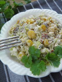 Nietypowa sa�atka Potato Salad, Grains, Salads, Rice, Potatoes, Lunch, Snacks, Baking, Vegetables