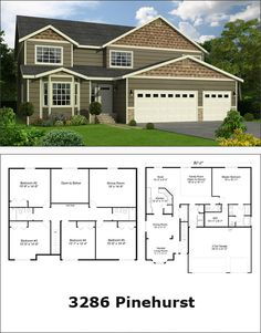 Reality Homes Inc- love this layout! What a great house plan Custom Built Homes, Custom Home Builders, Home Inc, House Plans, Sweet Home, New Homes, Floor Plans, House Design, Flooring