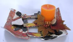 Pillar Candles, Candle Holders, Objects, Thanks, Do Your Thing, Handarbeit, Love, Creative, Gifts
