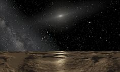Hunt for 'Planet Nine' Professor David Gerdes, from the University of Michigan, found the new dwarf planet, named2014 UZ224 when searching through images taken by the Dark Energy Camera.