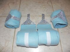 Horse and Pony Bling Polo Wraps Any color by EquineIce on Etsy, $30.00