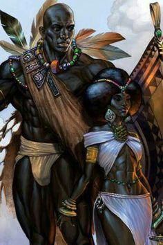 232 best images about african american art in african king clipart collection - ClipartXtras Black Love Art, Black Girl Art, Black Is Beautiful, Afrique Art, Black Art Pictures, Art Africain, Black Artwork, Wow Art, Afro Art