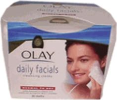 Oil of Olay Daily Facial Cleansing Cloths Blank Book, Facial Cleansing, Bare Minerals, Olay, Health And Beauty, Sephora, Cheers, Mascara