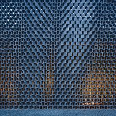 AU Office and Exhibition Space Facade / Archi Union Architects Inc Detail Architecture, Parametric Architecture, Brick Architecture, Parametric Design, Interior Architecture, Contemporary Architecture, Folding Architecture, Installation Architecture, Landscape Architecture