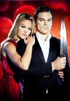 Michael C Hall & Julia Stiles (Dexter and Lumen)