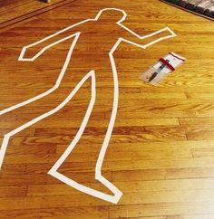 How to Set Up a Mock Murder Crime Scene