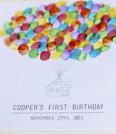 recently i had the privilege of making invitations for the cutest little boy cooper