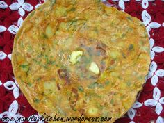 Aloo Paratha (Spicy Potato stuffed in whole wheat flat bread) @FoodBlogs