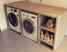 Keller Design-Ideen The Effective Pictures We Offer You About DIY Laundry A quality picture can tell you many things. Garage Laundry, Small Laundry Rooms, Laundry Room Design, Diy Garage Storage, Laundry Room Organization, Home Renovation, Home Remodeling, Laundry Room Inspiration, Modern Garage