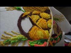 Bordado pan, panera fantasia concha  725