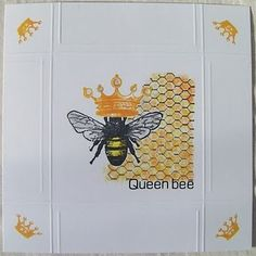 Queen Bee - cute invitation idea for reenie's 90th