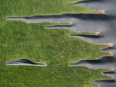 L'enfance du pli « Landscape Architecture Works | Landezine #urbanlandscapearchitecture