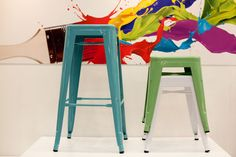 Stools at the 2013 Cape HOMEMAKERS Expo