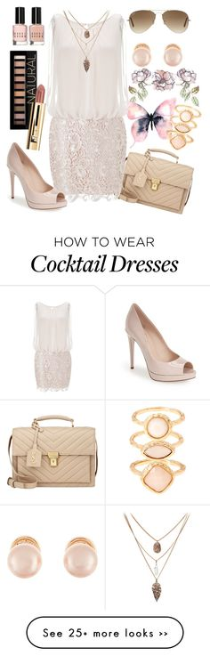 """""""Untitled #414"""" by harrypottergirl41229 on Polyvore featuring Yves Saint Laurent, Aidan Mattox, Fendi, Forever 21, Bobbi Brown Cosmetics, Kenneth Jay Lane, Accessorize and Ray-Ban"""