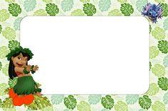 Imprimibles de Lilo y Stich. - Ideas y material gratis para fiestas y celebraciones Oh My Fiesta!