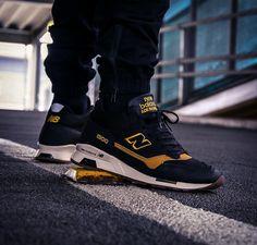 "Schwarzer New Balance MH1500 KT ""Black & Yellow"" als winterized Version - Made In England - solekitchen.de   Solekitchen – Sneakerstore Chemnitz"
