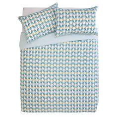 Buy Argos Home Newstalgia Retro Bedding Set - Double Best Bedding Sets, Duvet Sets, Duvet Cover Sets, Double Duvet Covers, Bed Duvet Covers, Retro Bed, Grey Sheets, King Size Duvet, Comfort Design