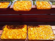 Marmarina Saraylı'nın güneşte pişen Bodrum mandalinası reçelleri.  Special BODRUM MANDARIN jams which are cooked under the sun from MARMARINA SARAYLI kitchen.