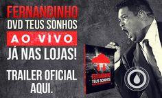 Chegou o DVD Teus Sonhos Ao Vivo! Mais: http://www.onimusic.com.br/oninews/oninews_dt.aspx?IdNoticia=267 #onimusic #fernandinho #dvdteussonhos