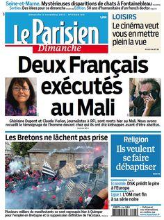 Le Parisien du Dimanche 3 Novembre 2013 French | 40 Pages | True PDF | 10 MB