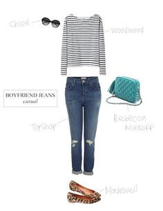 How to wear boyfriend jeans (style ideas)