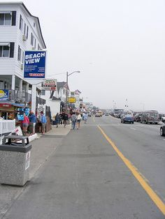 Part of Hampton Beach Boardwalk in Hampton NH - Sarah Great Memories, Childhood Memories, Hampton Beach Nh, Us Vacation Spots, Places Ive Been, Places To Go, New England States, Extra Credit, Beach Boardwalk
