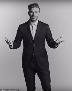 David Beckham Suit, Male Poses, Suit Fashion, Suit Jacket, Photoshoot, Suits, Jackets, Studio, Projects