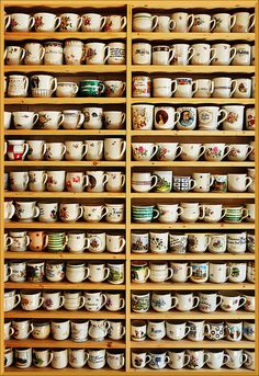 Coffee. Lots of cups. ;)