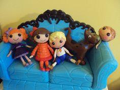 Scooby Doo Custom Mini Lalaloopsies by PhoenixWingCreations