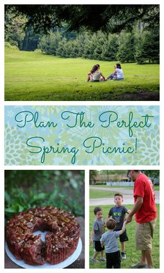 Plan the perfect spring family picnic, away or at home, with these helpful tips.  And make it MORE special with this idea from @CollinStBakery AD