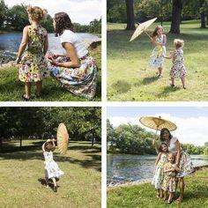 Fairy Tale Frocks    Cloud9 Fabrics, via Flickr