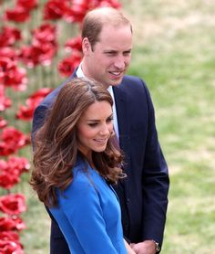 Catherine Duchess of Cambridge and Prince William Duke of Cambridge at the Tower of London