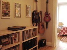 Collecting Guitars and Displaying Them